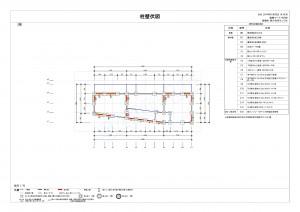 木造3階柱壁図sample03